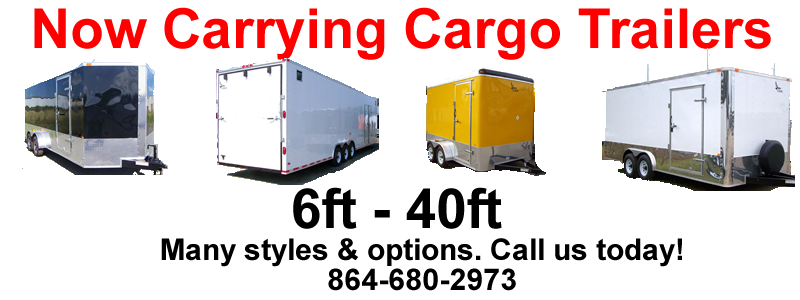 Cargo Trailers Spartanburg, Boiling Springs, Greenville