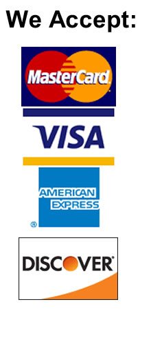 Green Valley Trailers, We accept credit cards